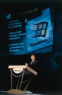 Présentation de Windows 98