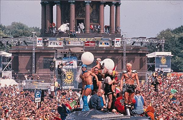 « love parade », Berlin, 1998