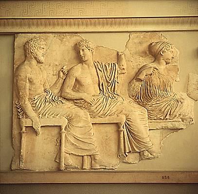 Phidias, Friso de Partenón