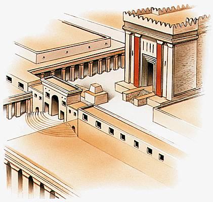 Qu'il entre le roi de gloire [dans le Temple de Jérusalem] !
