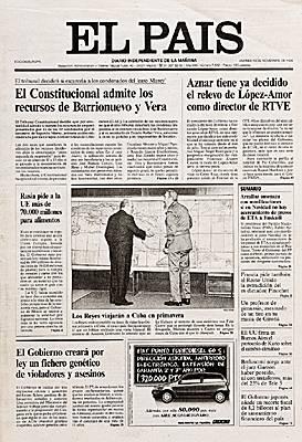 Encyclop die larousse en ligne el pa s - Nom de journal espagnol ...