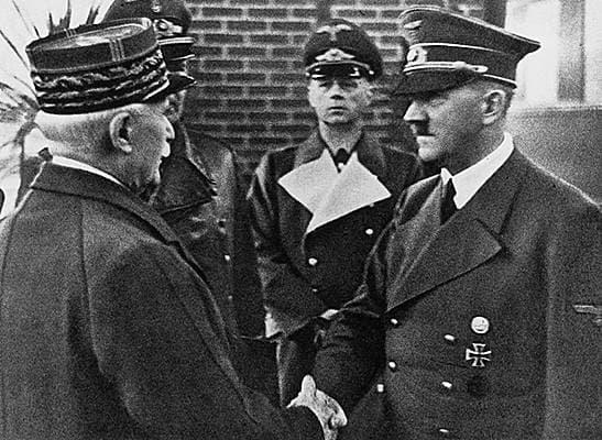 Message du maréchal Pétain, le 17 juin 1940