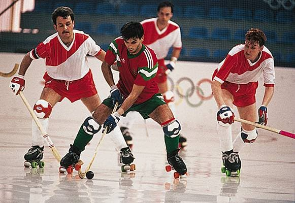 hockey sur patins à roulettes (« rink hockey »), jeux Olympiques, 1992