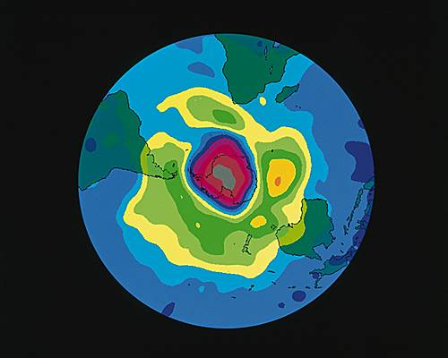 Encyclop die larousse en ligne ozone grec odzein exhaler une odeur - Trou de la couche d ozone ...