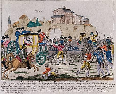 Arrestation de Louis XVI et de sa famille à Varennes – Média LAROUSSE