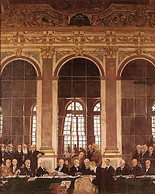 Traité de Versaille,