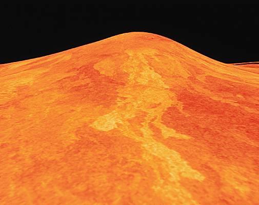 Vénus, volcan sif mons