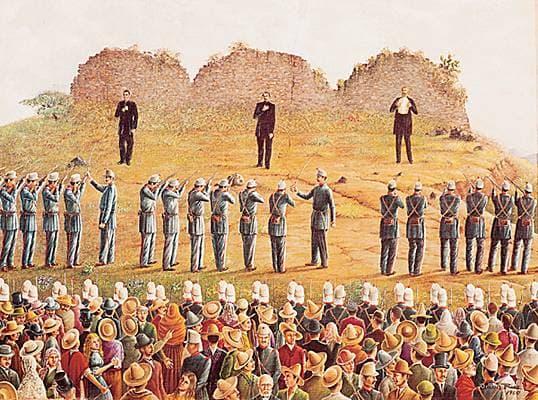 Odilón Ríos, exécution de Maximilien