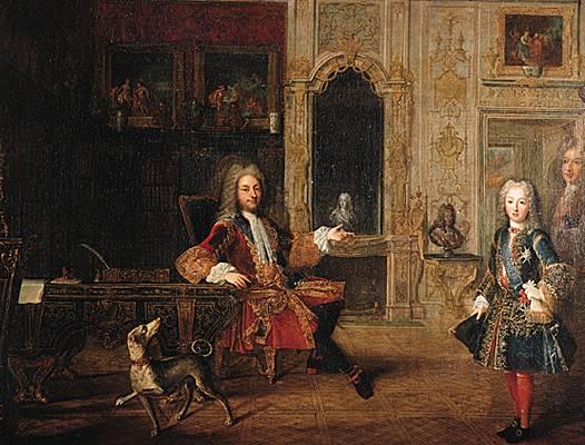 """Résultat de recherche d'images pour """"Louis XV et le Régent"""""""