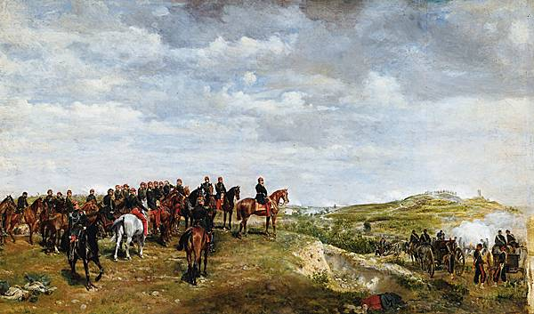Jean-Louis Ernest Meissonier, NapoléonIII à la bataille de Solferino