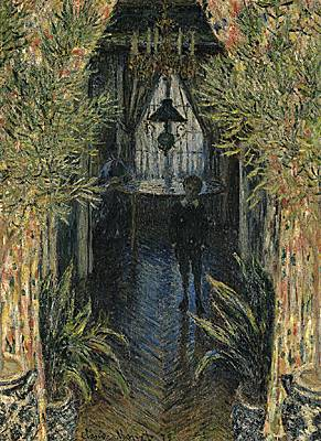 Claude Monet, Un coin d'appartement