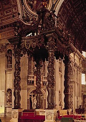 Encyclop die larousse en ligne saint pierre de rome en for Interieur 18eme siecle