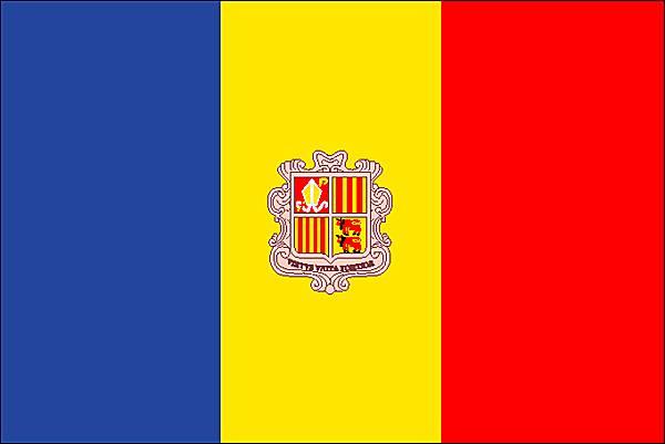symbolique drapeau andorre-