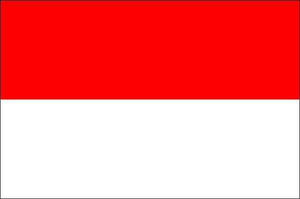 drapeau de l indonesie
