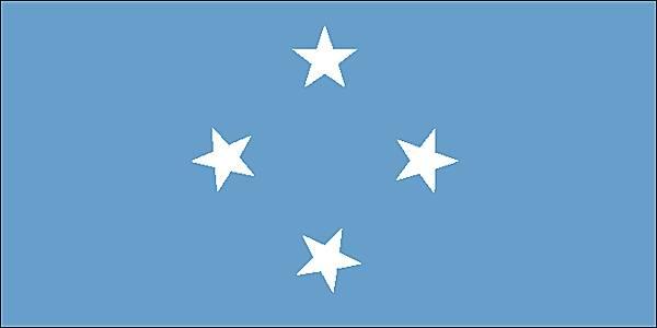 les Etats federes de micronesie drapeau