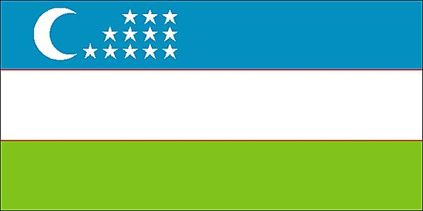ouzbekistan drapeau