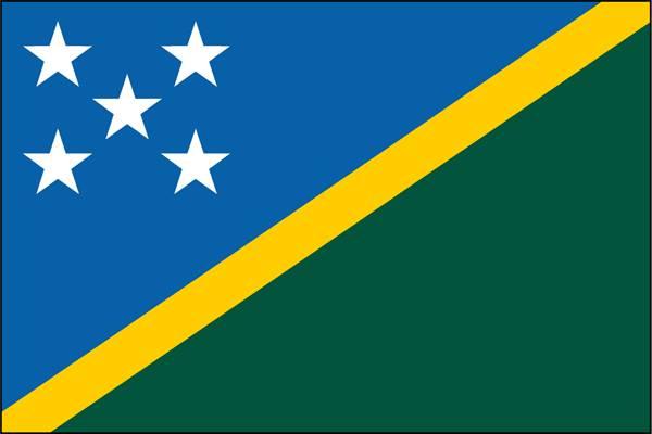 drapeau des iles salomon