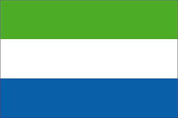 drapeau de la sierra leone