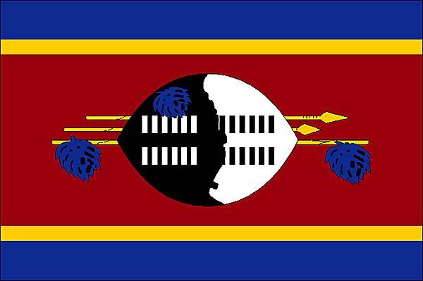 le ngwane drapeau