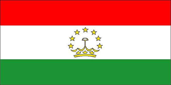 le tadjikistan drapeau