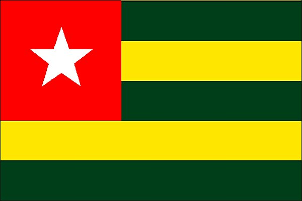 Togo Flag Pictures