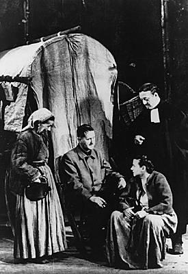 Bertolt Brecht, octobre 1947