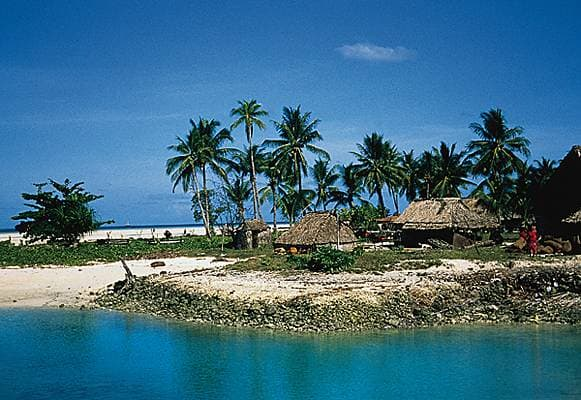 Kiribati - dwellings