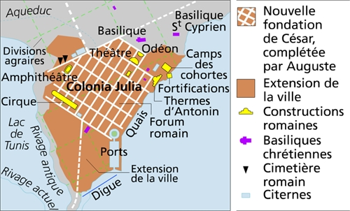La Carthage romaine
