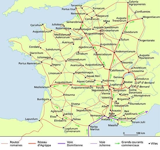 Plan Ville Romain Gaule