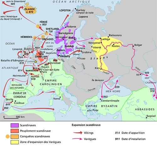 histoire des vikings-
