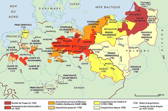 Encyclopédie Larousse en ligne   Prusse en allemand Preussen
