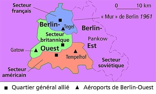 Carte Allemagne Apres Guerre.Encyclopedie Larousse En Ligne Allemagne Histoire