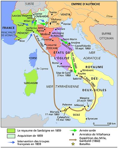 Carte Italie Xve Siecle.Encyclopedie Larousse En Ligne Italie Histoire