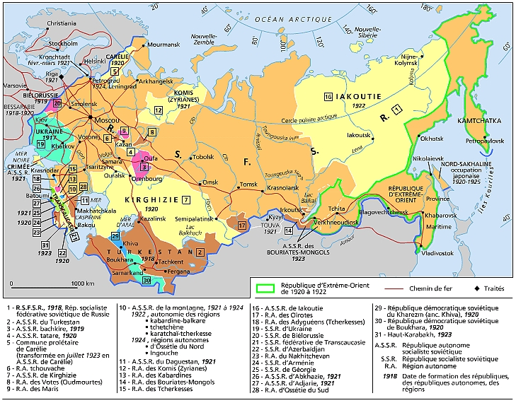 Anciennes républiques soviétiques non russes