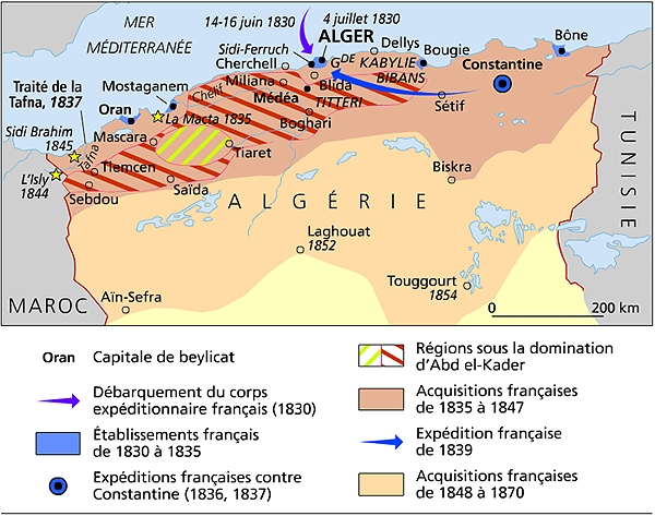 algérie de 1830