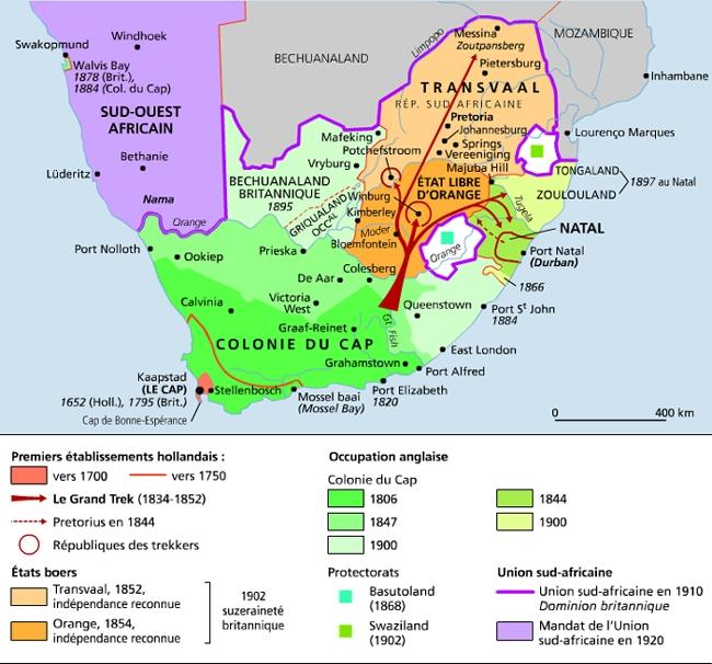 Carte Agriculture Afrique Du Sud.Encyclopedie Larousse En Ligne Afrique Du Sud Republique D