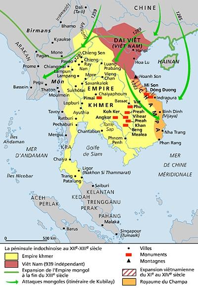 Carte Paludisme Asie Du Sud Est.Encyclopedie Larousse En Ligne Asie Du Sud Est Histoire