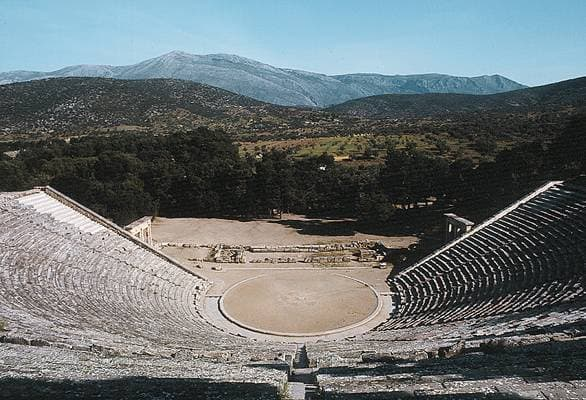 Epidauro, el teatro