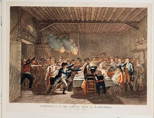 Arrestation de Louis XVI