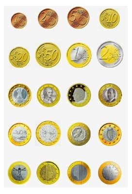 piece de monnaie europe