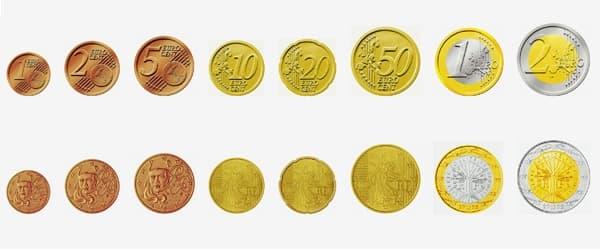 piece de monnaie euro