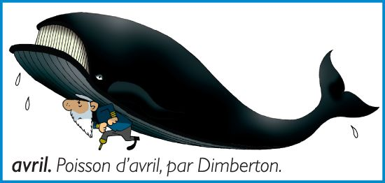 Poisson d'avril, par Dimberton