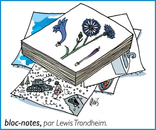 Bloc-notes, par Lewis Trondheim