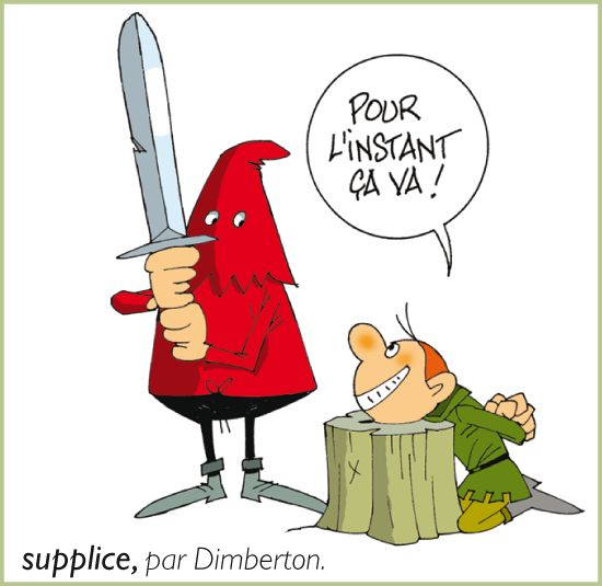 Supplice, par Dimberton