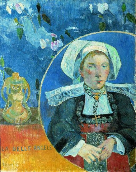 Paul Gauguin, la Belle Angèle