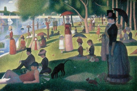 Georges Seurat, Un dimanche après-midi à la Grande Jatte