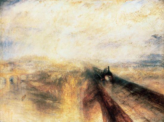 William Turner, Pluie, vapeur, vitesse