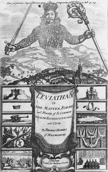 Thomas Hobbes, Léviathan