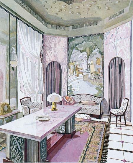 Encyclopédie Larousse en ligne - Salon de style Art déco