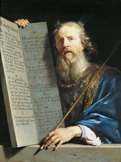 Philippe de Champaigne, Moïse et les Tables de la Loi